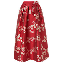 Buy L.K.Bennett Sana Jacquard Social Skirt Online at johnlewis.com