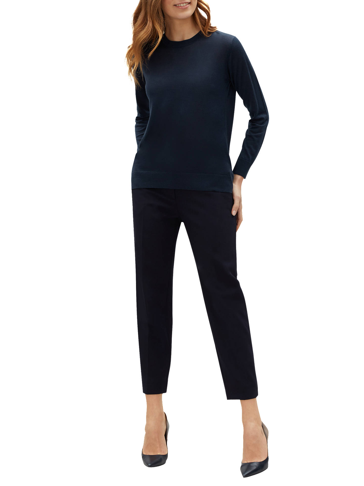 db7ad8266035 Buy Jaeger Rouched Tie Neck Jumper