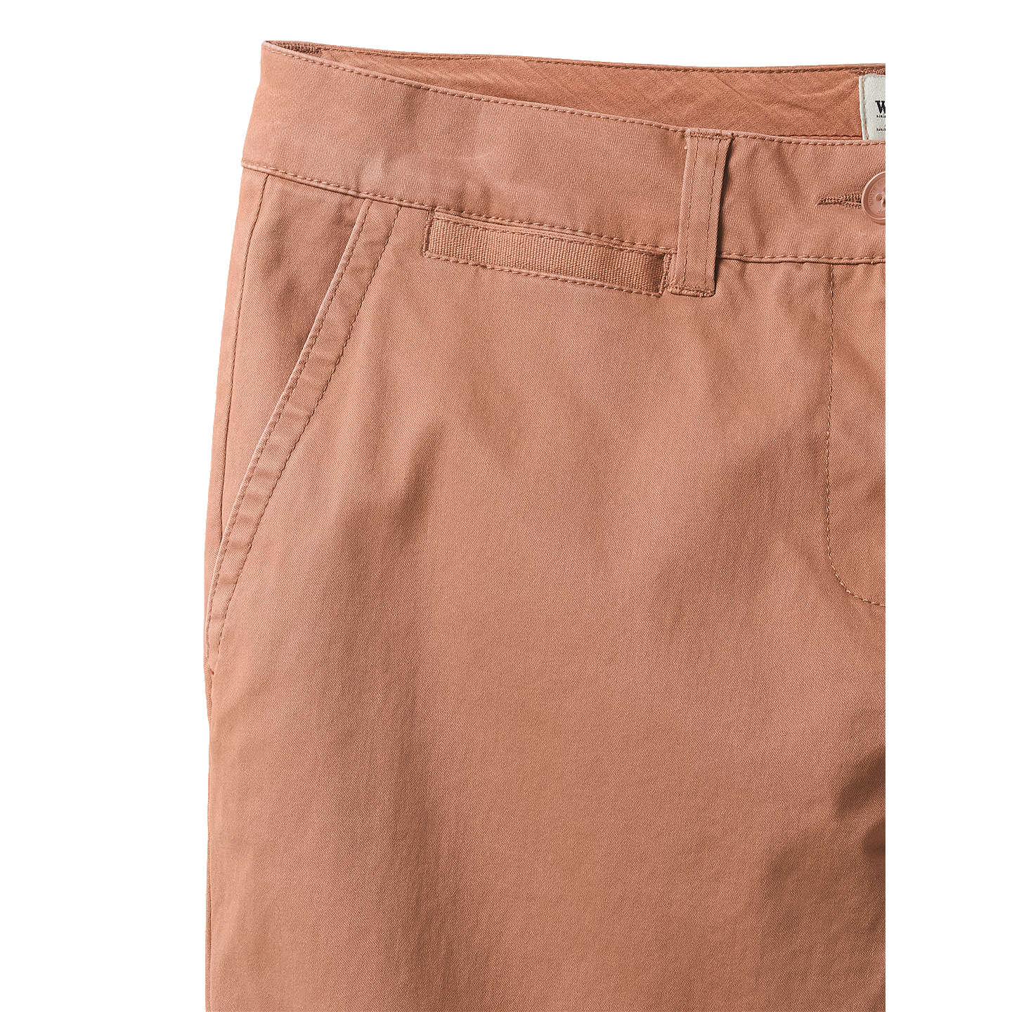 BuyWhite Stuff Linden Chino Trousers, Rust, 6 Online at johnlewis.com
