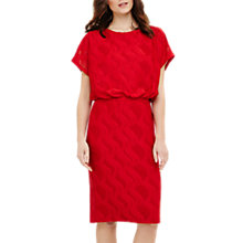Buy Phase Eight Temple Textured Blouson Dress Online at johnlewis.com