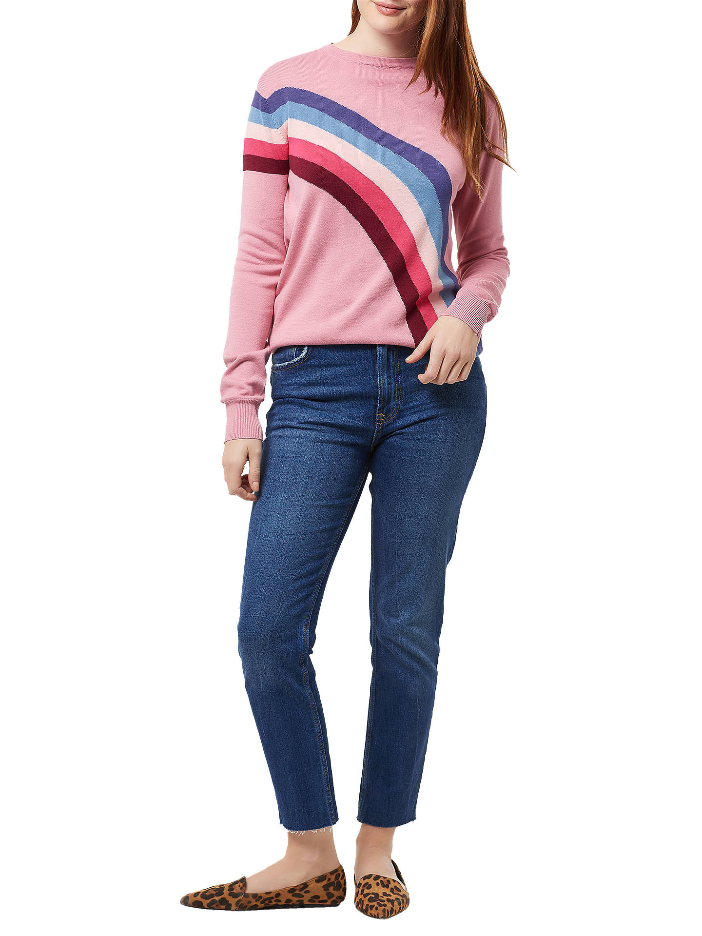 Buy Sugarhill Brighton Rita Jumper, Pink, 8 Online at johnlewis.com