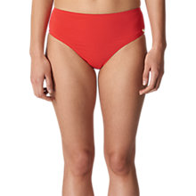 Buy Whistles Cali Frill Bikini Briefs, Red Online at johnlewis.com