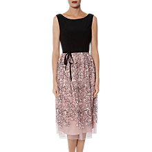Buy Gina Bacconi Maia Floral Embroidered Dress Online at johnlewis.com