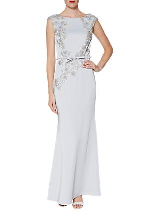 Gina Bacconi Carmen Beaded Maxi Dress