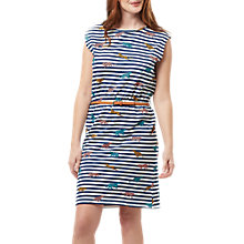 Buy Sugarhill Boutique Hetty Leopard Stripe Dress, Multi Online at johnlewis.com