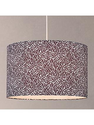 House by John Lewis Yin Lampshade, Black