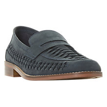 Buy Dune Barnmouth Bay Loafers, Navy Online at johnlewis.com