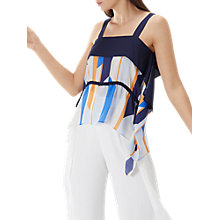Buy Coast Suri Striped Top, Multi Online at johnlewis.com