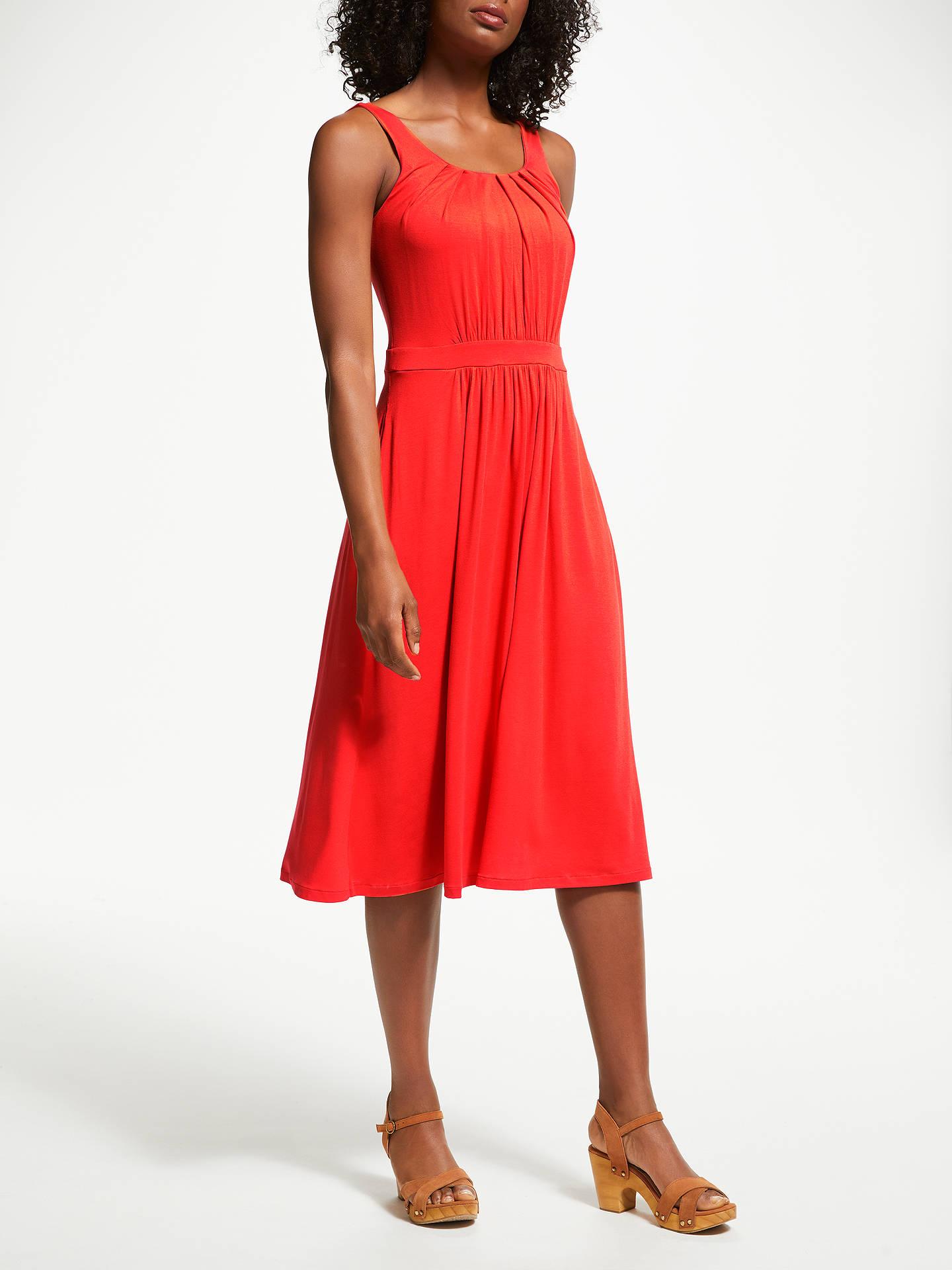 Boden Emmie Jersey Dress Blood Orange At John Lewis Partners