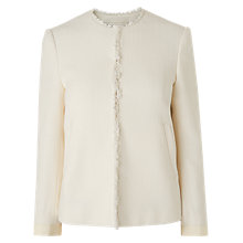 Buy L.K.Bennett Hazel Tailored Jacket, Cream Online at johnlewis.com