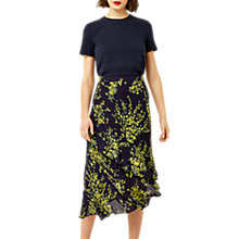 Buy Warehouse Sweetpea Ruffle Skirt, Navy Online at johnlewis.com