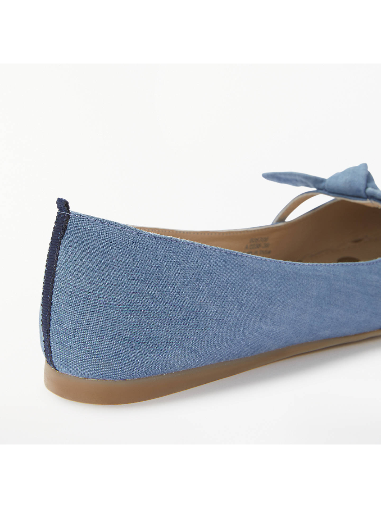 BuyBoden Lottie Pointed Toe Pumps, Blue, 4 Online at johnlewis.com