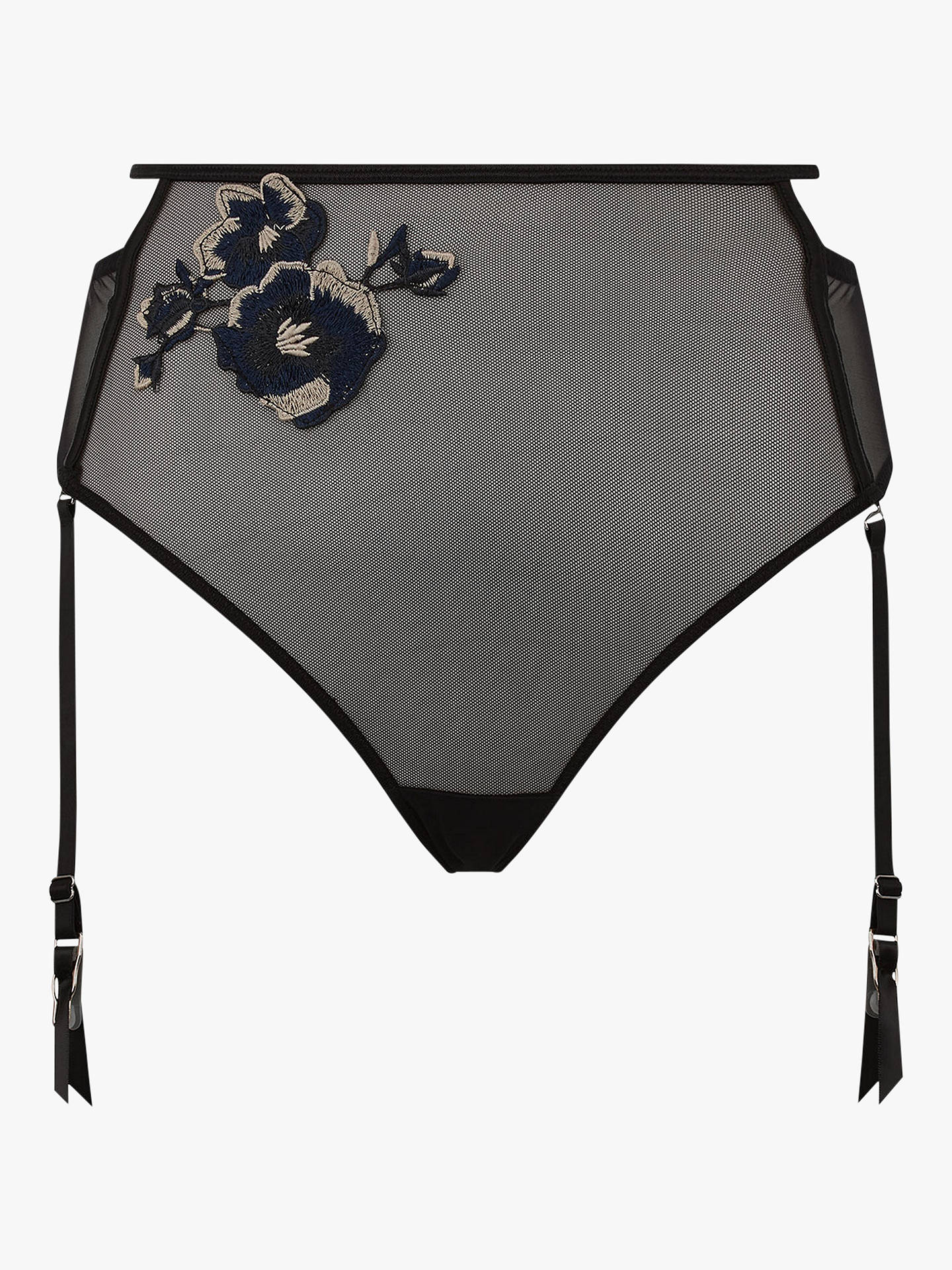 BuyBluebella Cerium Thong, Black/Blue/Rose Dust, 8 Online at johnlewis.com