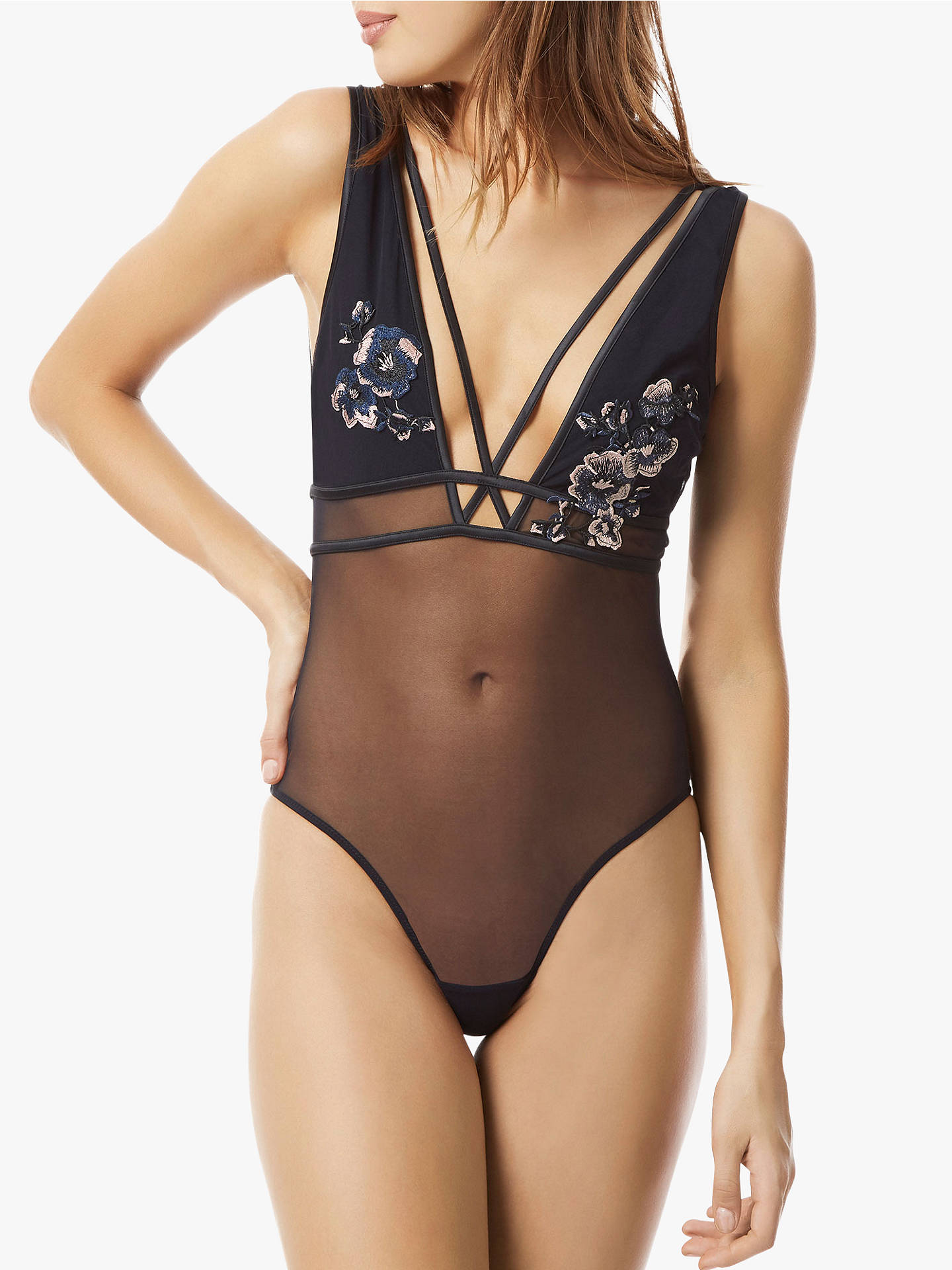 Buy Bluebella Cerium Body, Black/Blue/Rose Dust, 8 Online at johnlewis.com