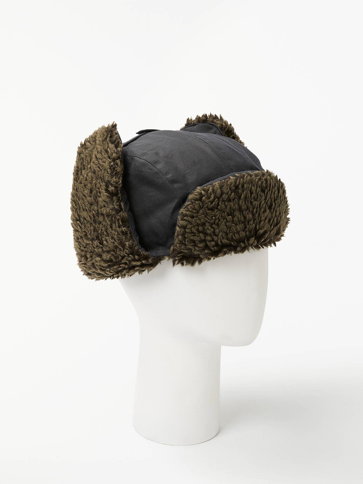 b2616ea9573 Buy John Lewis   Partners Waxed Cotton Trapper Hat