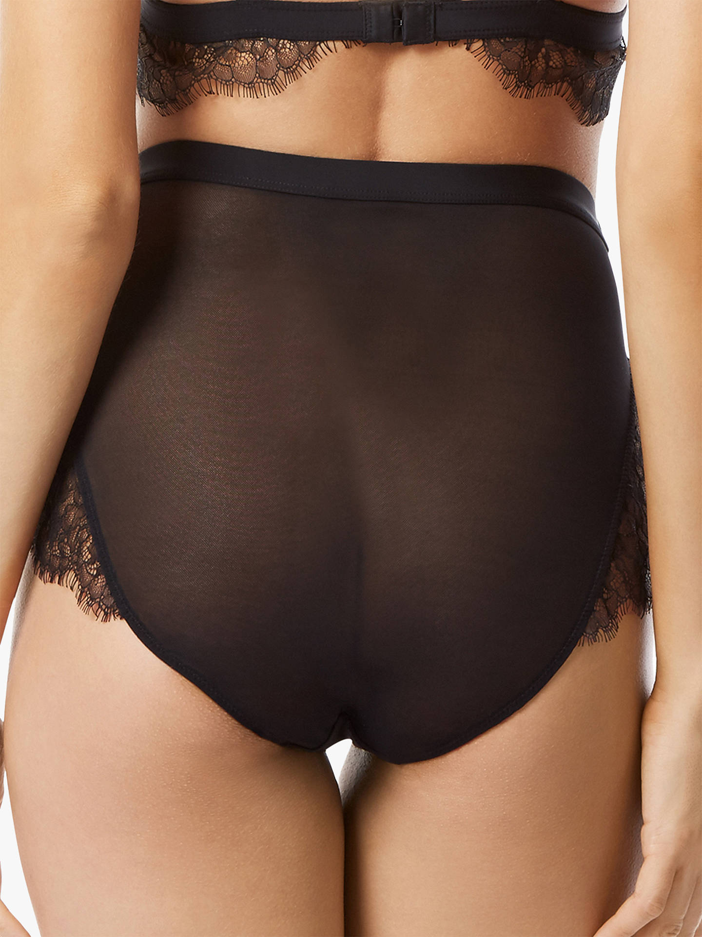 Buy Bluebella Nyane Lace Trim Brief, Black, 8 Online at johnlewis.com