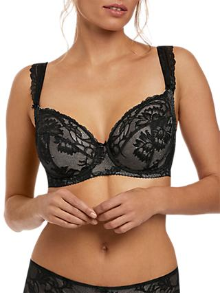 Fantasie Bronte Underwired Side Support Bra, Black