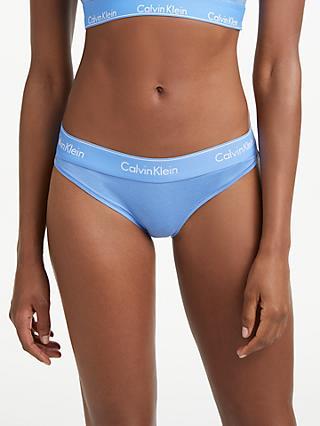 67e5e69e21 Calvin Klein Modern Cotton Bikini-Cut Briefs