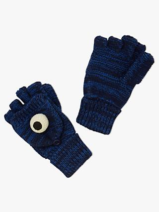 fc41e1e55315e John Lewis   Partners Girls  Monster Flip Top Gloves
