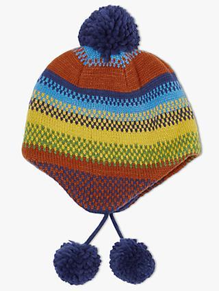 9912965a969 John Lewis   Partners Children s Stripe Trapper Hat