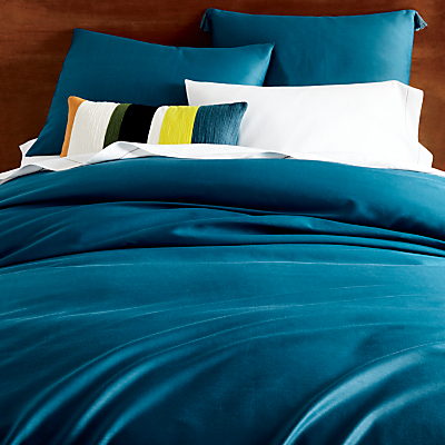 west elm Lyocell Bedding, Blue Teal