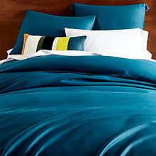 Buy west elm Lyocell Bedding, Blue Teal Online at johnlewis.com
