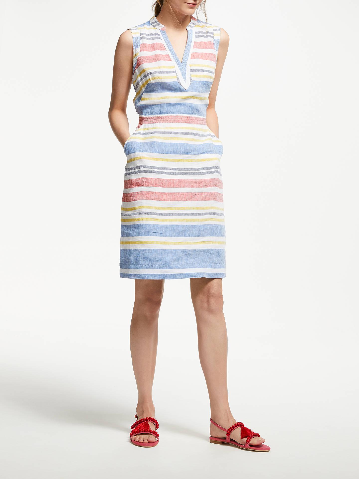 cd6ef6be4a ... Buy Boden Linen Notch Neck Dress