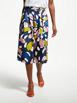 Buy Boden Lola Skirt, Riviera Blue, 10 Online at johnlewis.com