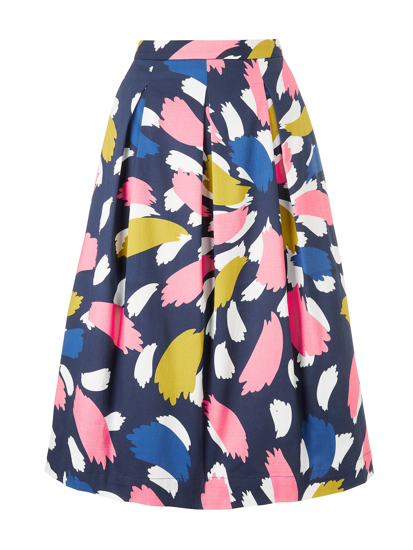 Buy Boden Lola Skirt, Riviera Blue, 18 Online at johnlewis.com