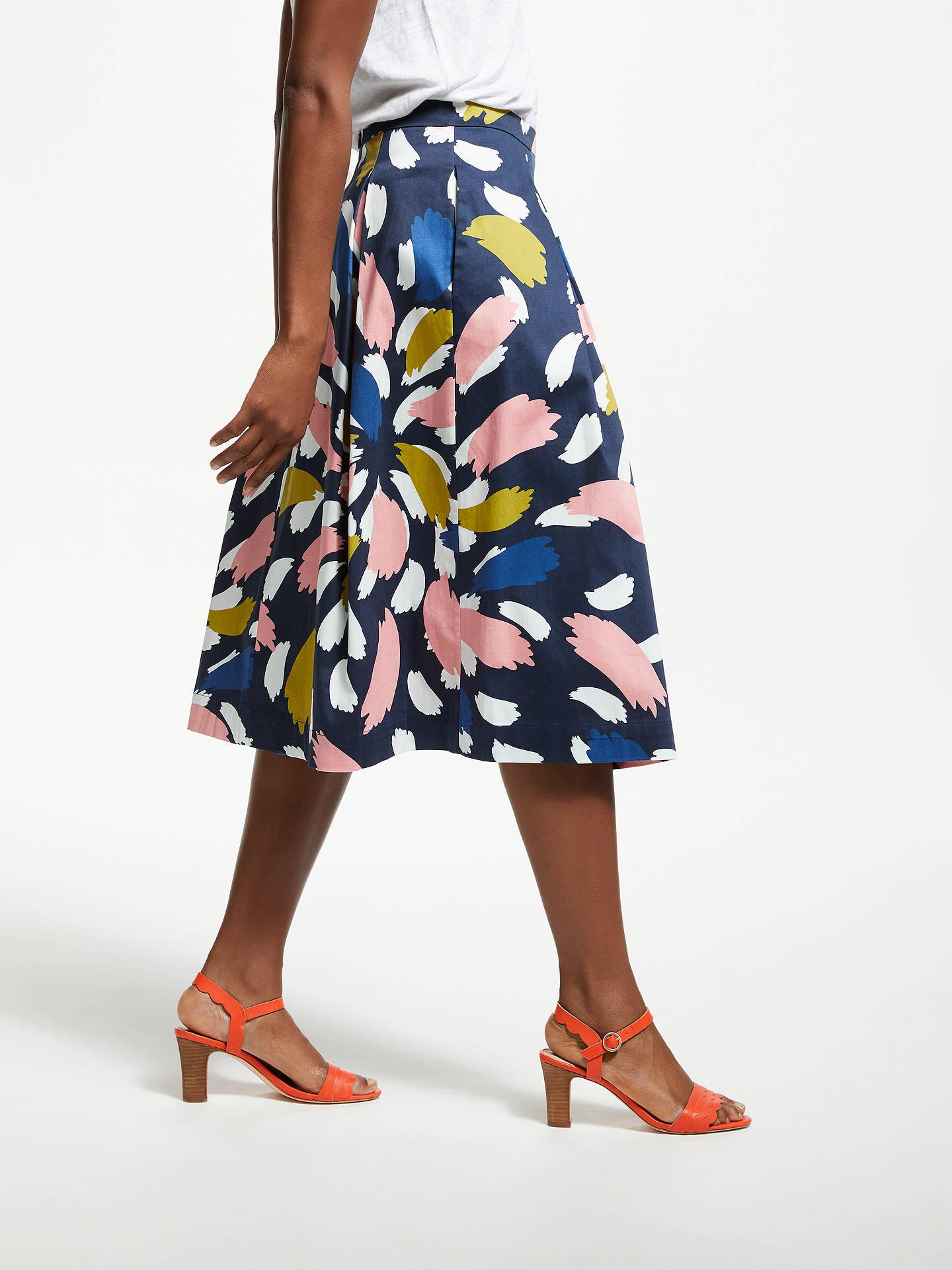Buy Boden Lola Skirt, Riviera Blue, 8 Online at johnlewis.com