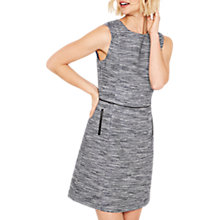 Buy Oasis Spring Tweed Shift Dress, Multi Online at johnlewis.com