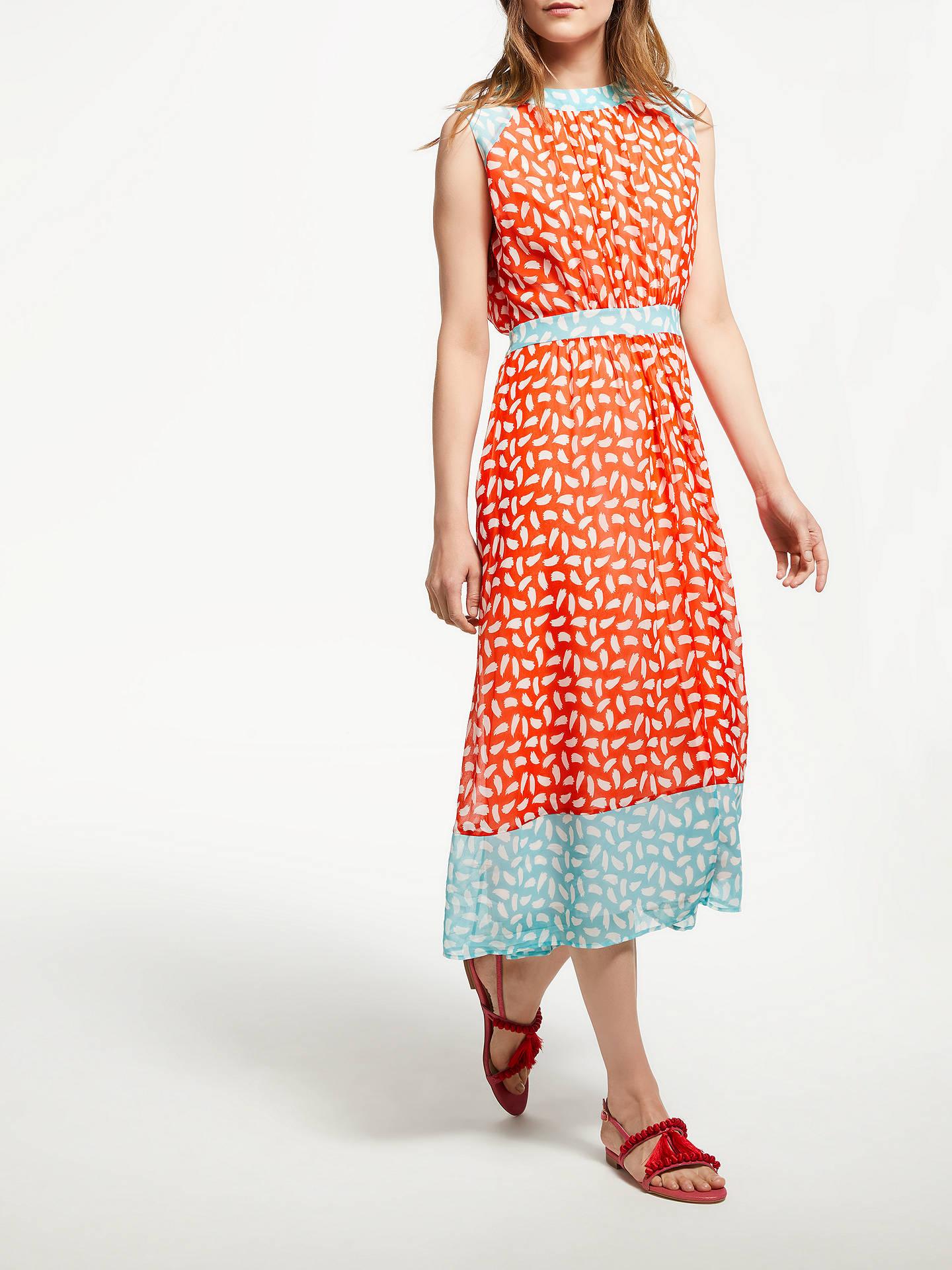 Boden Sylvie Brush Stroke Dress At John Lewis Partners