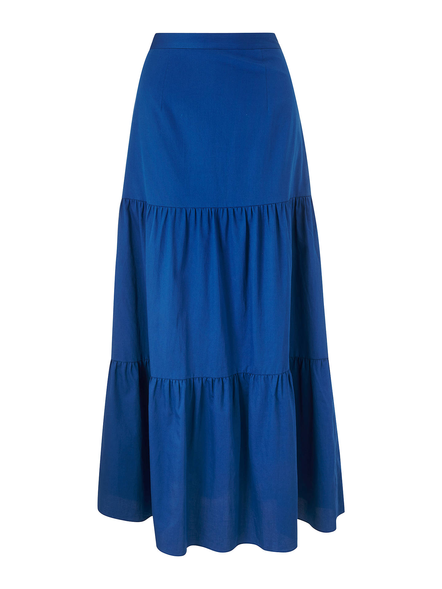 BuyBoden Thea Maxi Skirt, Riviera Blue, 8 Online at johnlewis.com