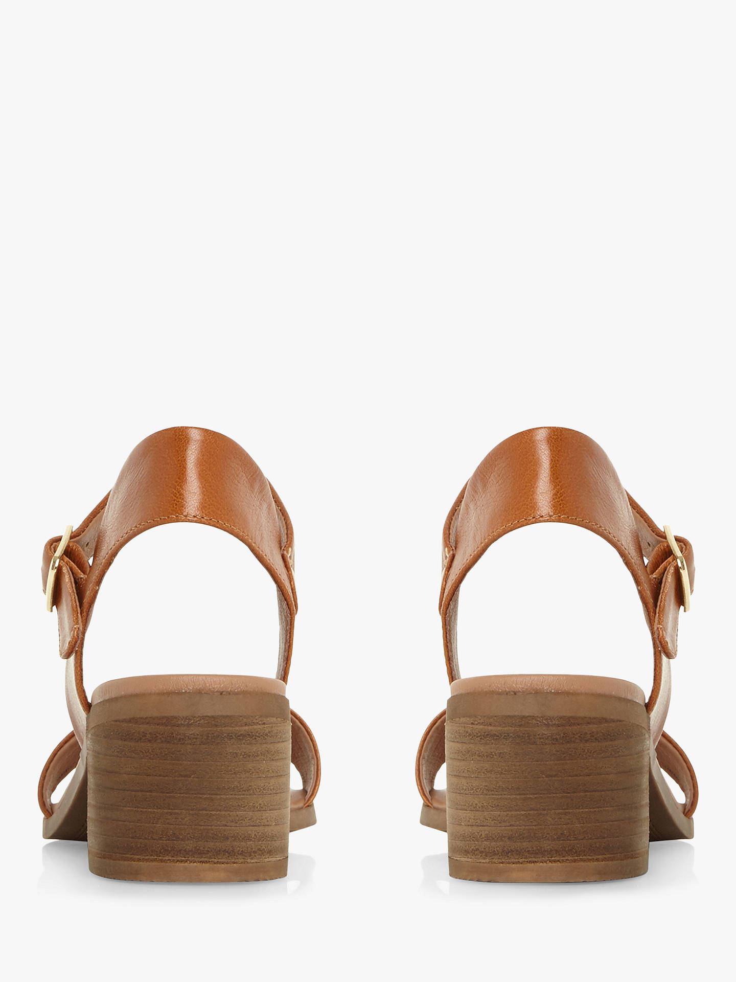 f55a6976aec Steve Madden April Leather Heeled Sandals at John Lewis   Partners