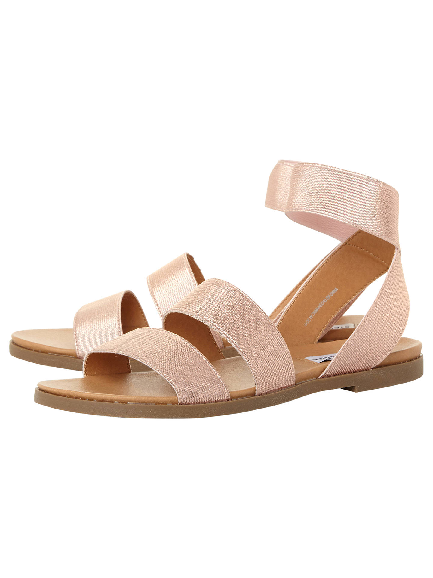 28d365b2764 Steve Madden Delicious Strappy Flat Sandals at John Lewis   Partners