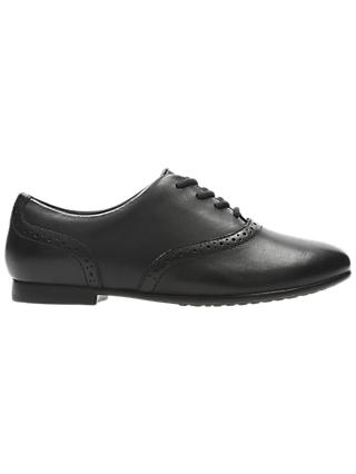 Clarks Children's Jules Brogue, Black