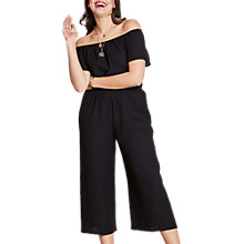 Buy Yumi Curves Off the Shoulder Culotte Jumpsuit Online at johnlewis.com