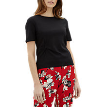 Buy Jaeger Side Knot Detail Jersey Top Online at johnlewis.com