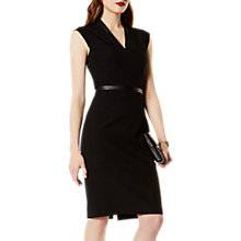 Buy Karen Millen Tailoring Collection Dress, Black Online at johnlewis.com