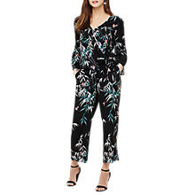 Buy Phase Eight Jay Bird Print Trousers, Black/Multi Online at johnlewis.com