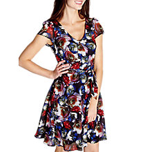 Buy Yumi Skater Floral Dress, Multi Online at johnlewis.com