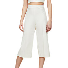 Buy Miss Selfridge Culottes, Ivory Online at johnlewis.com