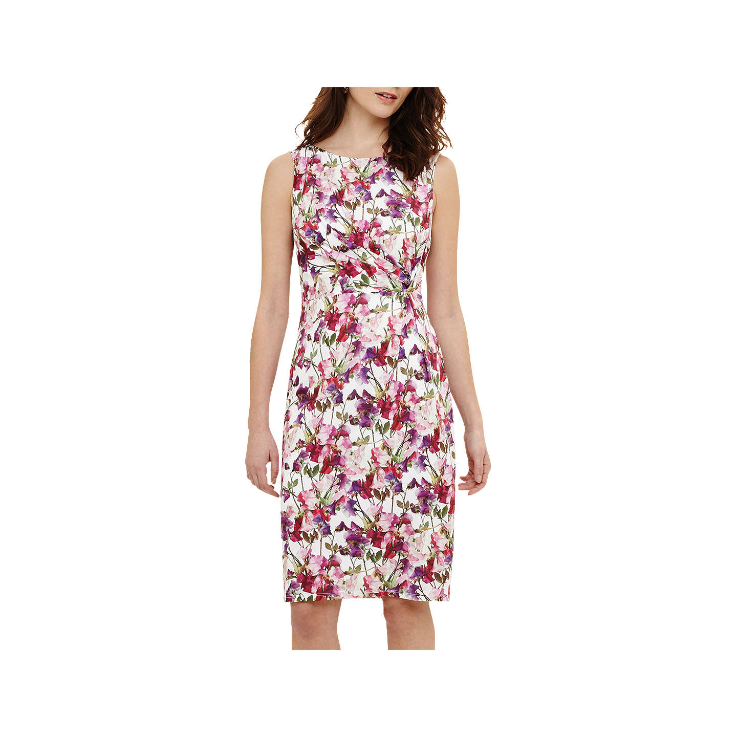 Phase Eight Sweet Pea Jersey Dress Pink Multi 6 Online At Johnlewis