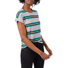 Buy White Stuff Urban Stripe Jersey T-Shirt, Multi Online at johnlewis.com