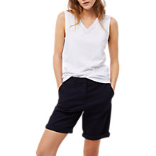 Buy White Stuff Hallie Jersey Vest Top, White Online at johnlewis.com
