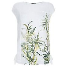 Buy Mint Velvet Alyssa Print Top, Multi Online at johnlewis.com