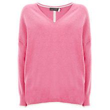 Buy Mint Velvet Tipped Cocoon Knit Jumper Online at johnlewis.com