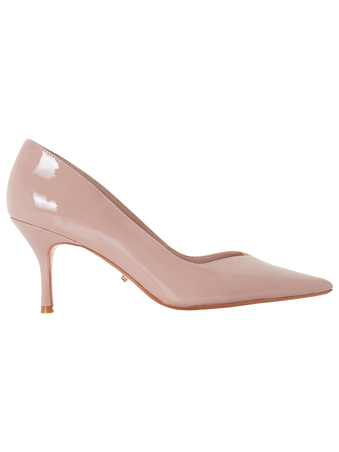 92c8b7d61d6 Dune Andersonn Mid Heel Court Shoes at John Lewis & Partners