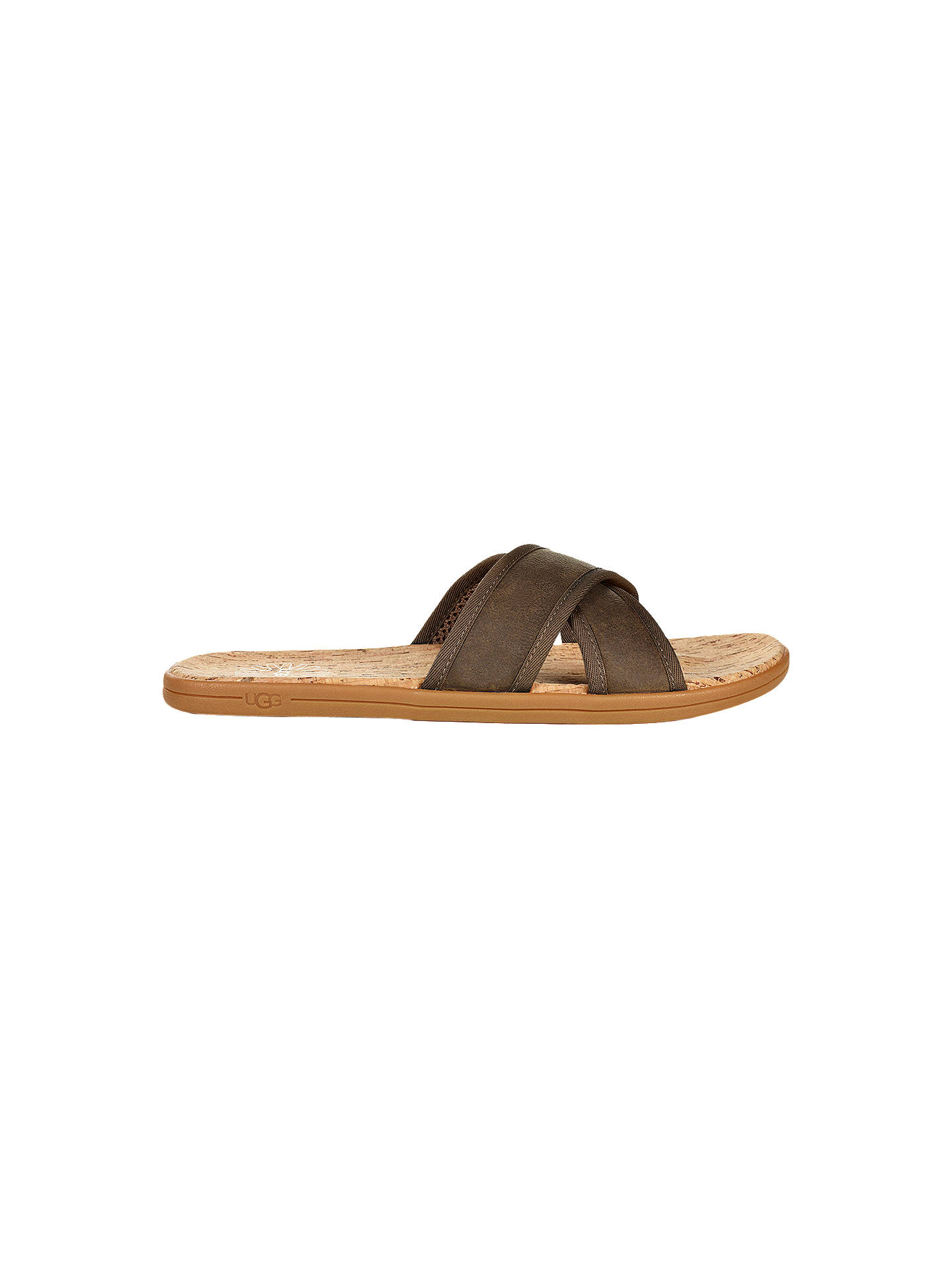 e8b6e2d0edeb29 Buy UGG Seaside Slide Sandals, Antelope, 7 Online at johnlewis.com