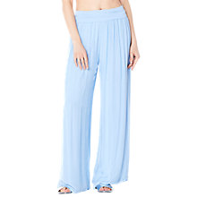 Buy Ghost Meg Trousers, Blue Online at johnlewis.com